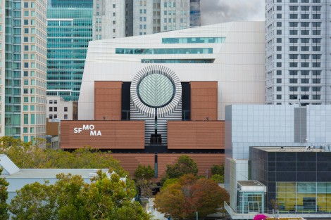 View of the SFMOMA building