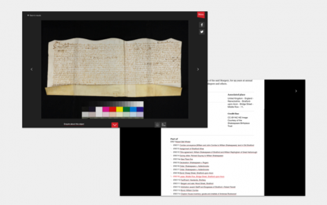 Screengrabs of Qi and archival websites with interactive trees