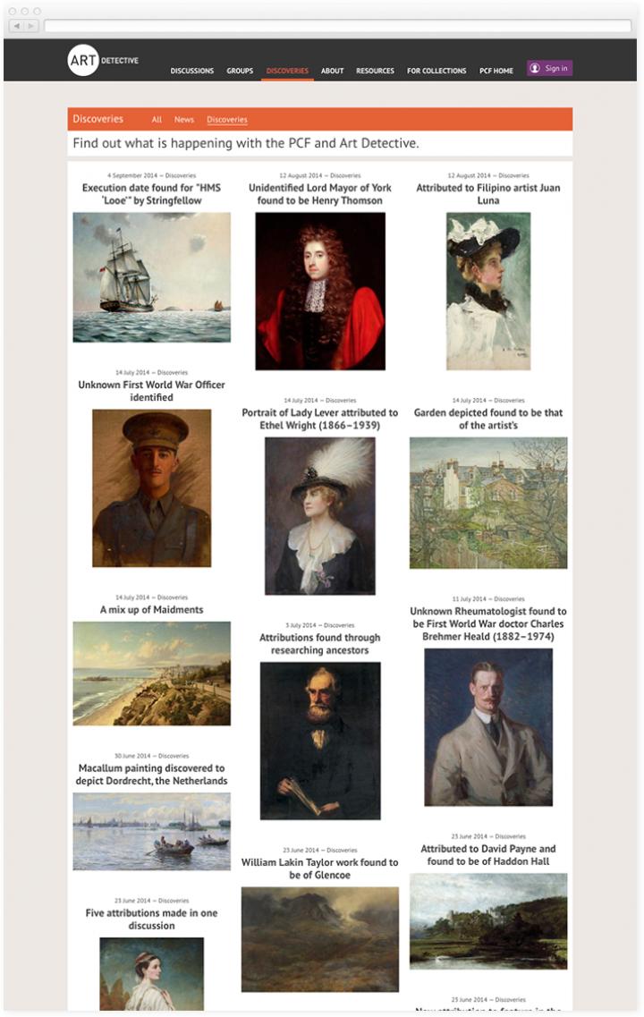 Art Detective Discoveries