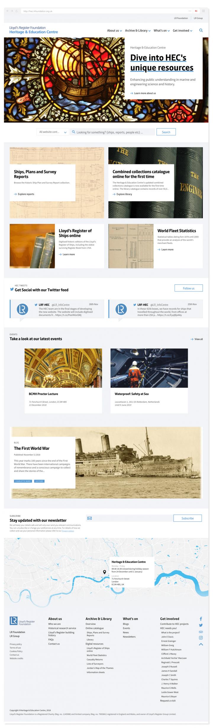 Lloyd's Register HEC homepage full