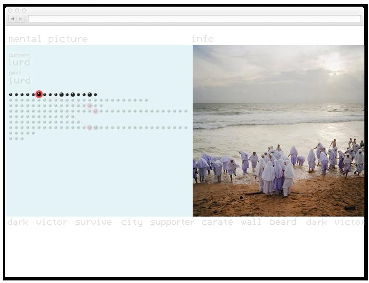 Screen of the Tim Hetherington website.